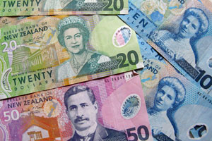 Money, cash, New Zealand dollar