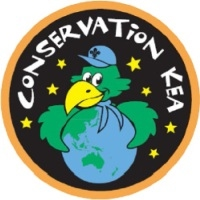 Kea conservation badge
