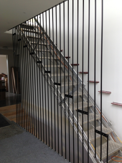 STAIRS ALL RODS