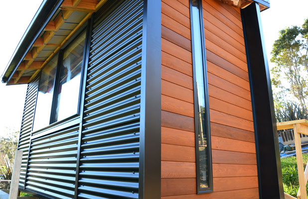 Cedar Wood Siding Painting