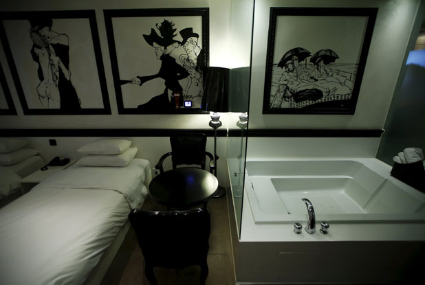 A View Of Room At Branch Hotel The Designers In Seoul South Korea Photo Reuters Kim Hong Ji