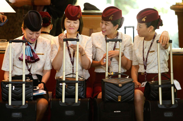 can emirates cabin crew be married