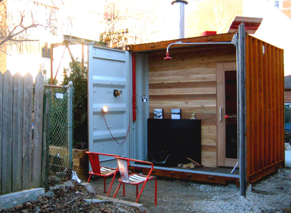 9 amazing ways to use a shipping container - Better homes and gardens storage containers ...