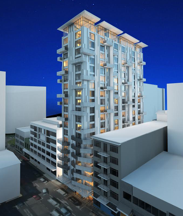 The Apartment Complex: High Rise Apartment Complex To Replace Earthquake Prone