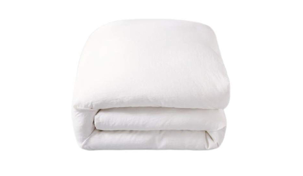 White Linen Duvet Cover Set