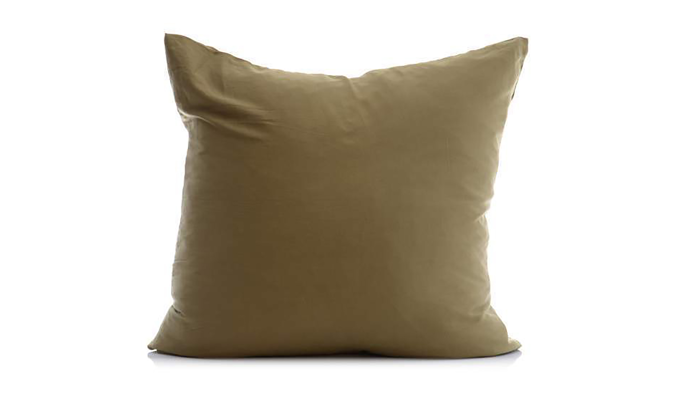 Olive Organic Large Cushion By Penney + Bennett
