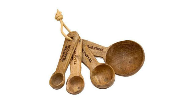 how to make wooden measuring spoons