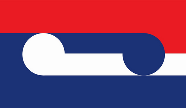 Flag Design Ideas 2014 koru flag design michael smithe This Logo Looks Like It Would Be More Appropriate For A Mass Transit System Than A Modern Independent Nation Alternatively It Looks Like The French Flag