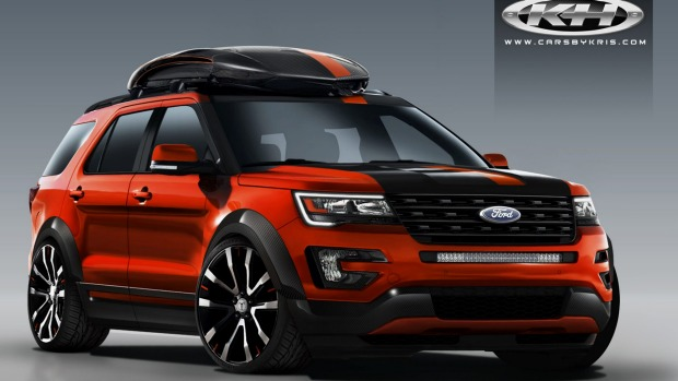 And  Ford Edge Sport To New Levels As Ford Has The Largest Oem Stand At The Specialty Equipment Market Associations Sema Las Vegas Show With