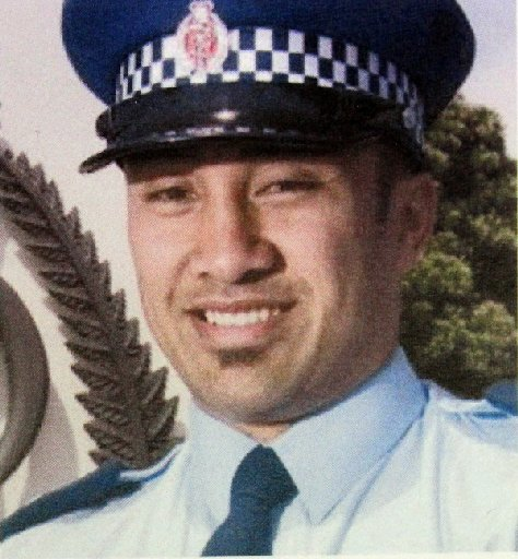 New Zealand police officer Kali Fungavaka, who was beaten to death in Tongan police cells.