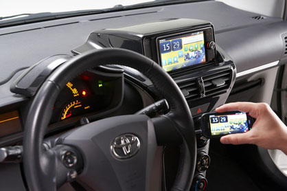 Staying connected while driving