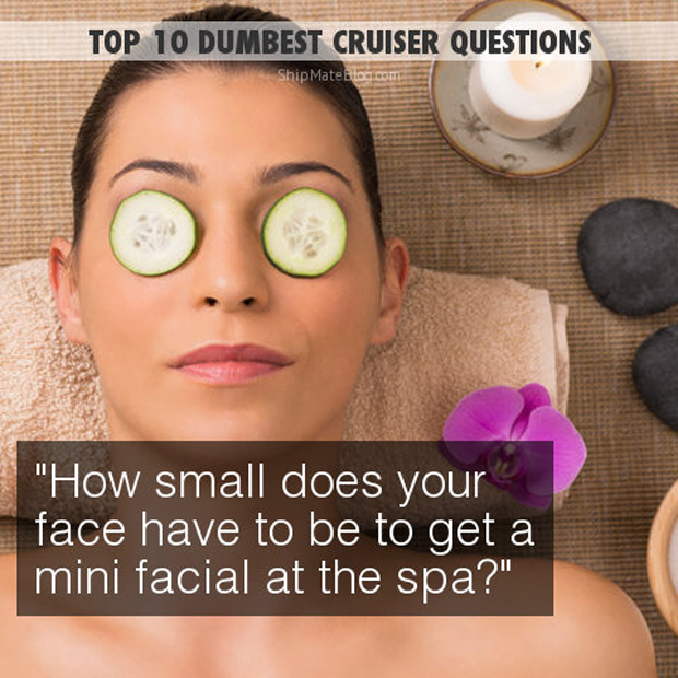 how small does your face have to be for a mini facial?