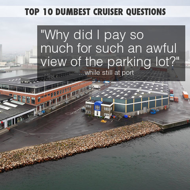 why did i pay for a view of a car park?
