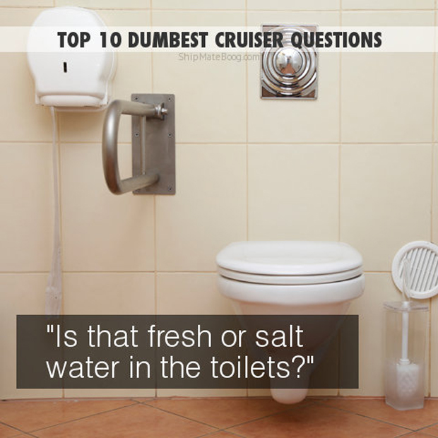 is it fresh or salt water in the toilets?