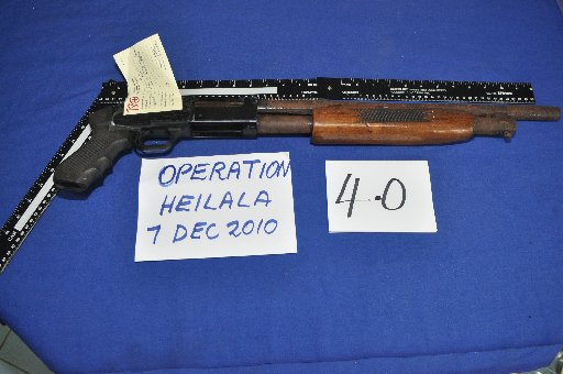 Guns like this could be being smuggled into the hands of gangs in New Zealand, by way of Pacific nations like Tonga.