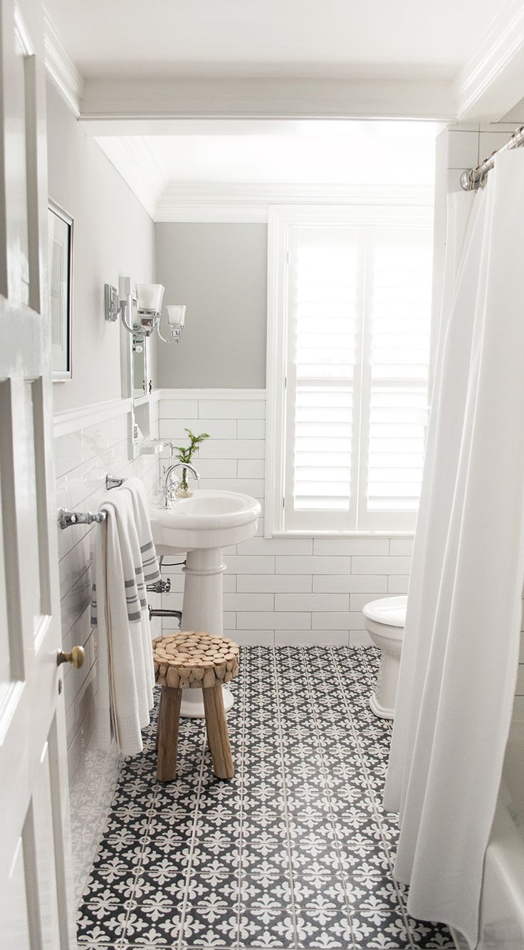 Eleven stunning new bathroom trends to inspire you stuff for Latest floor tile trends