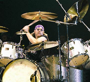 Ian Paice on Drums