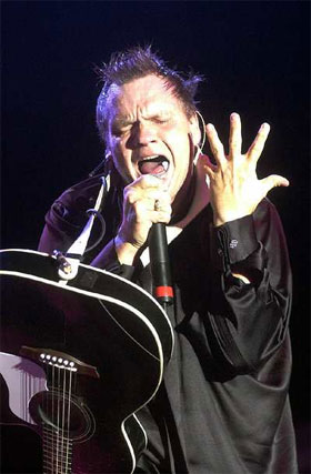 Meat Loaf singing