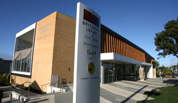 WINNER: The Birkenhead Library and Civic Centre has won two prizes at the 2010 Auckland Architecture Awards.