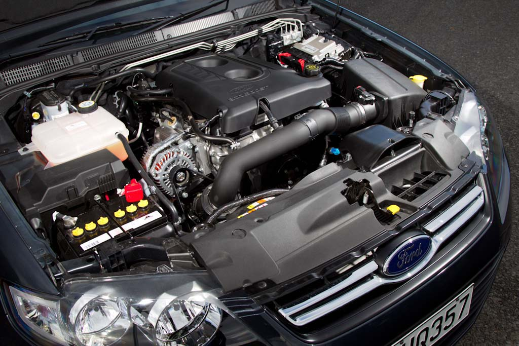 Ecoboost Falcon engine