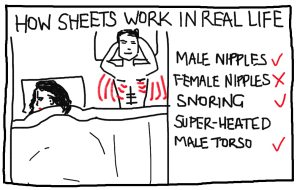 How bed linen works in the real world