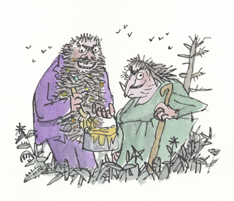 The Twits (copyright: Quentin Blake)