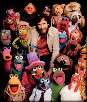 Jim Henson and crew