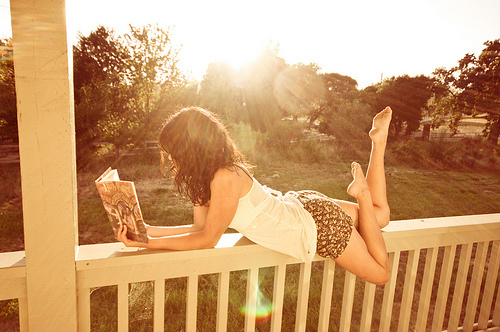 reading sunshine