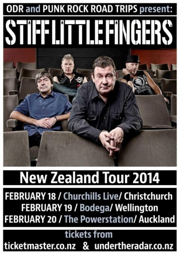 Stiff Little Fingers NZ Tour