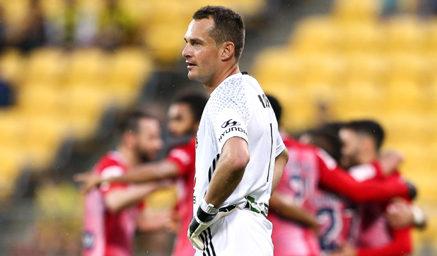 Phoenix goalkeeper Glen Moss says his team don't deserve to be in finals based on their current form.
