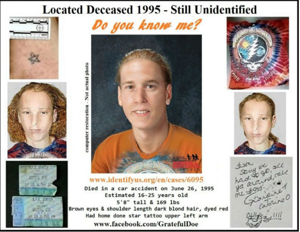Twenty year old mystery involving a dead teenager solved by Facebook and Reddit community