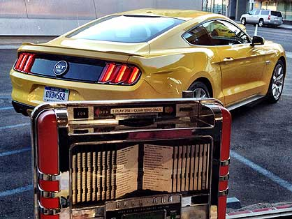 New Ford Mustang leaks out